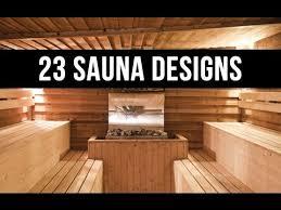 designer sauna 23 home sauna designs