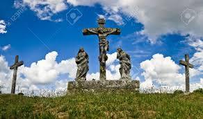 the calvary presenting the crusifiction of jesus christ in zminj