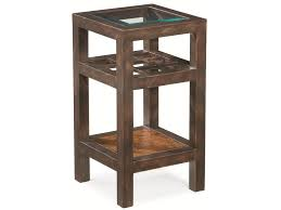 Square Accent Table Thomasville Grove Square Accent Table W Glass Insert Top