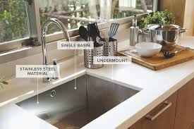 best stainless steel kitchen cabinets in india a guide to 12 different types of kitchen sinks