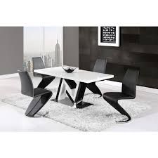 global furniture dining table global furniture contemporary black and white dining table free