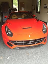 Ferrari F12 Orange - shawn cunix on twitter