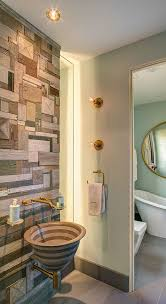artist wall wood salvaged style 10 ways to transform your bathroom with reclaimed wood