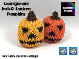 loomigurumi jack u0027o lantern halloween pumpkin hook only