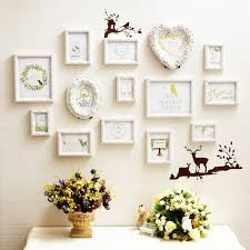 wood frame wall decor 3d carved wood picture frames sets wall decor 14 pcs set