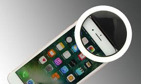 Light For Phone Bright Ring Rechargeable Led Selfie Light For All Phone Models