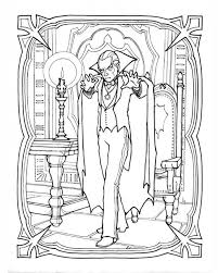vampire coloring pages dracula coloringstar