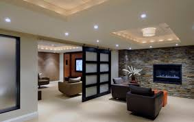 popular of basement layout ideas long and narrow with stylish