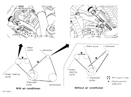 nissan altima 2005 belt 1998 nissan 200sx serpentine belt routing and timing belt diagrams