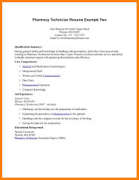 Sample Resumes For Pharmacy Technicians by Pharmacy Technician Resumes