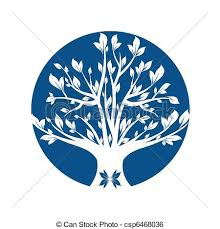 blue tree illustrations and stock 84 489 blue tree