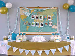 2nd birthday decorations at home interior design simple airplane themed birthday party