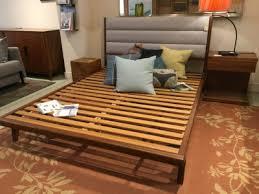 Bamboo Platform Bed Echo Furniture San Francisco Transitional Modern Furniture