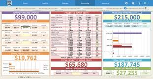 Property Flipping Spreadsheet Project Forecaster House Flipping Spreadsheet