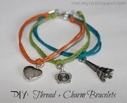 diy bracelet with thread images We read diy thread charm bracelets jpg