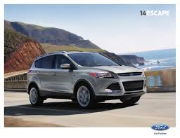 Ford Escape Colors - ford 2014 escape sales brochure