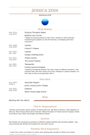 Sample Occupational Therapist Resume by Pta Resume Resume Cv Cover Letter