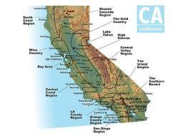 california map regions california s amazing 4 regions