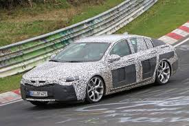 vauxhall insignia wagon vauxhall insignia spy shots big saloon discovers its sleeker side