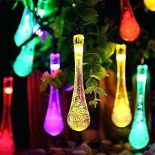 multi colored solar garden lights multi colored solar garden lights led outdoor solar string lights
