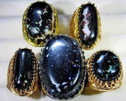 black opal rings images Indonesian black opal rings dealers parcel 7195 jpg