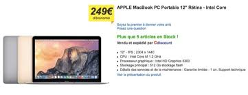 imac black friday blackfriday cdiscount ipad pro imac et macbook en promo