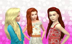 childs hairstyles sims 4 my sims 4 blog kiara24 liberty hair for girls mystuff