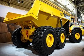 volvo 18 wheeler trucks volvo ce unveils 60 ton a60h articulated dump truck equipment