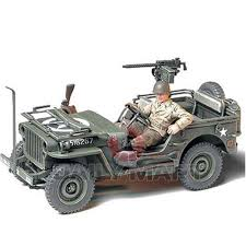 willys jeep 1 4 ton 4x4 truck 1 35 scale tamiya by