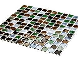 cocotik backsplash tile for kitchen marble square peel and stick