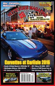 corvette magazines vues magazine 544 vues magazine december 2016