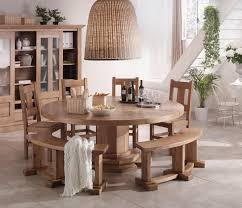 Dining Room Table Round by French Country Oak Round Dining Table Round Table 200cm With