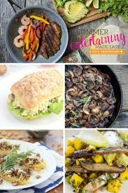 Summer Lunch Menu Ideas For Entertaining - 162 best recipes of the month images on pinterest mushrooms