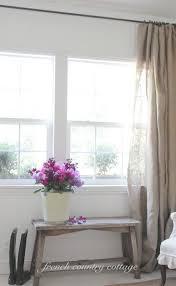 Cottage Style Curtains And Drapes The 25 Best Burlap Drapes Ideas On Pinterest Burlap Curtains
