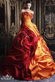 multi color wedding dress dresses couture multi color gown wedding dresses rami kadi