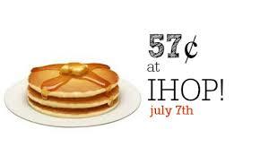 ihop black friday ihop special 57 pancakes 7 7 southern savers