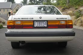 i am audi 5000 1990 audi 100 quattro sedan junkyard find