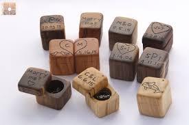wedding rings in box jewelry rings wedding ring box engagement rustic wood mini