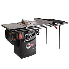 porter cable table saw review sawstop pcs175 tgp236 professional table saw review tool nerds