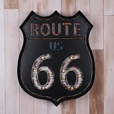 Route 66 Home Decor Us Route 66 Vintage Home Decor Bar Decoration Placa Decorativa
