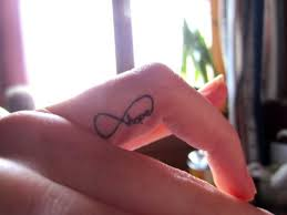 tattoo finger hope infinity hope finger tattoo