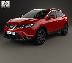 nissan dualis interior nissan qashqai with hq interior and engine 2014 3d model hum3d