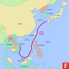 East China Sea Map Opinion China Is Competing With The U S For Military Control