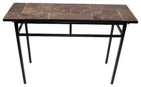 Stone Sofa Table Stone Top Console Tables Houzz