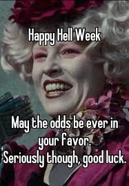 Good Luck On Finals Meme - hell week life quote pinterest meme