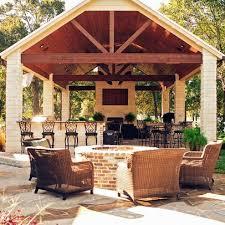 Backyard Brick Patio Design With 12 X 12 Pergola Grill Station by Best 25 Fire Pit Gazebo Ideas On Pinterest Fire Pit Under