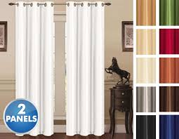 Thermal Energy Curtains 2 Panels Thermal Energy Saving Madonna Blackout Curtains