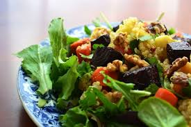 Green Root Vegetable - roasted root vegetable quinoa salad wendy polisi