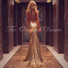 Mermaid Prom Dress Rose Gold Promotion Shop For Promotional