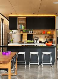 interior decoration for kitchen 31 black kitchen ideas for the bold modern home freshome